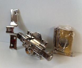 Colocación de cerrojo FAC de seguridad llave plana