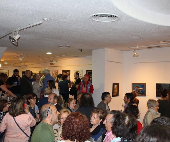 EXPOSICIÓN DE ALUMNOS DE ARTESTUDIO EN LA CASA DE VALENCIA