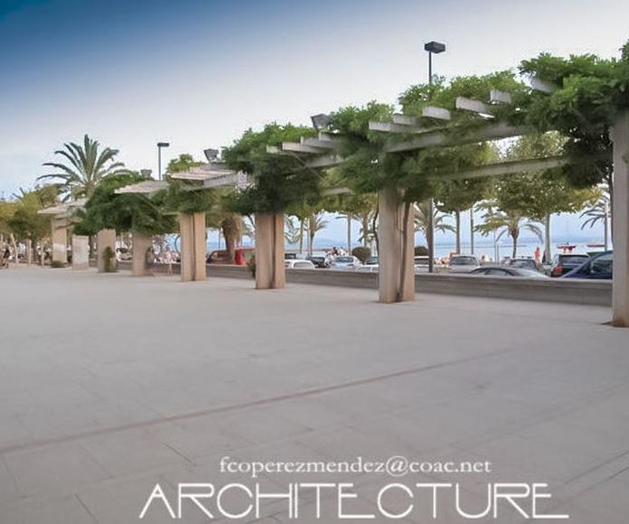 Plaza de Catalunya  Roses  Girona Spain  architect sitges.com: Proyectos  architectsitges.com de FPM Arquitectura