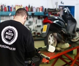Reparación motos en el día