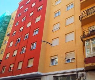 SATE Thermocal Fachadas con aislamiento termoacústico Torrelavega-Santander