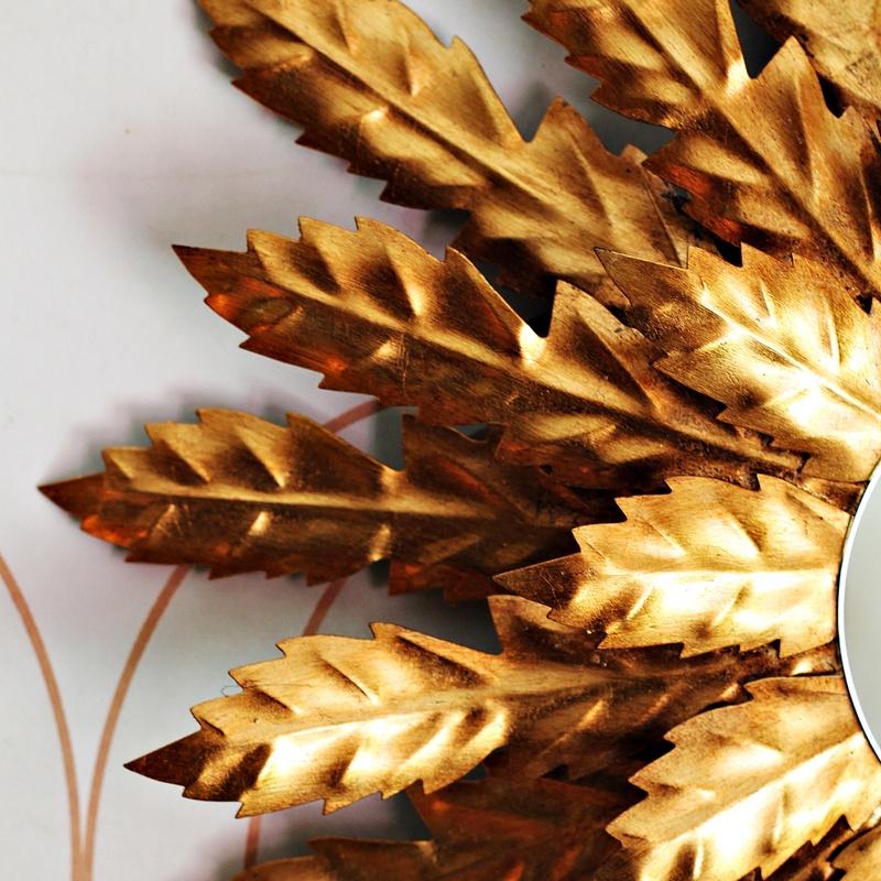 Impresionante espejo sol  dorado:  de Ruzafa Vintage
