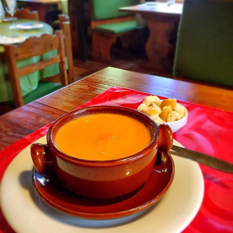 Sopas: Carta de Restaurante Las Chozas