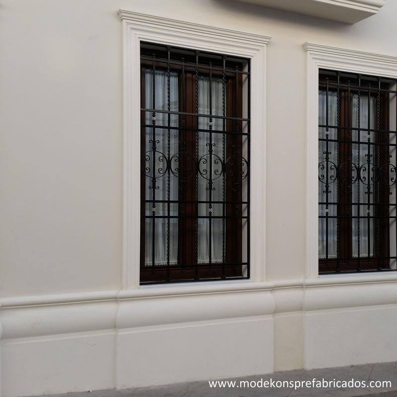 Zócalos de fachadas: Productos y servicios de Modekons Prefabricados
