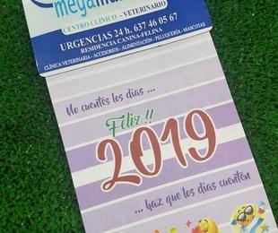 Calendario de Megamascotas