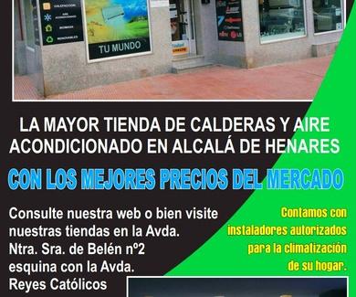 CALDERAS ALCALA DE HENARES
