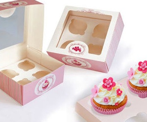Caja para cupcakes (Thiolat)