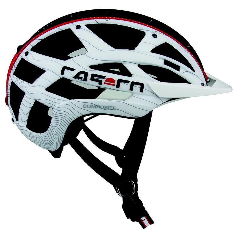 CASCO CUDA ENDURO COMP NEGRO/BLANCO/ROJO TALLA M 52-58 cm: Productos de Bikes Head Store