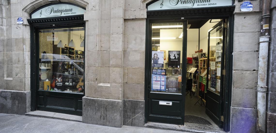 Tiendas de instrumentos musicales en Bilbao: Pentagrama