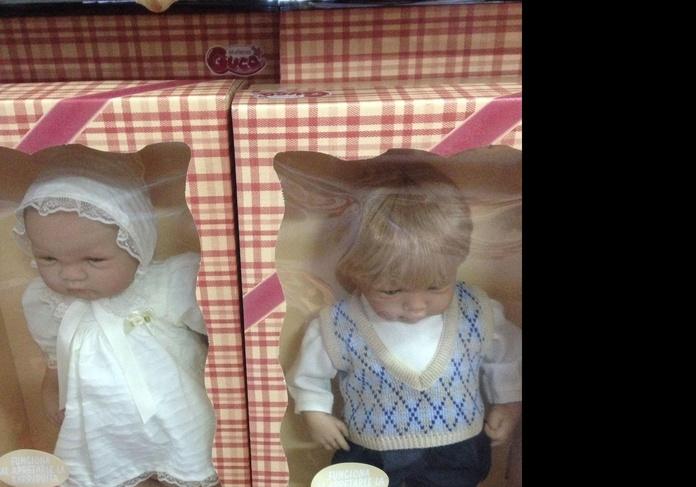 Guca muñecas venta corté inglés