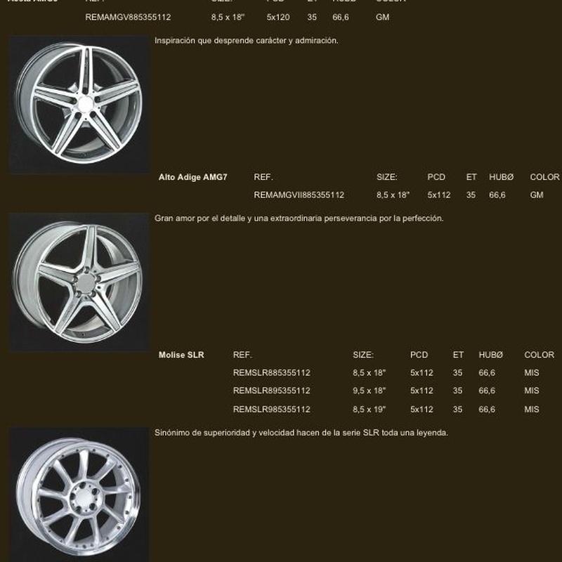 Llantas para Mercedes: Neumáticos Primeras Marcas  de Big Sur Neumáticos