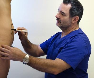 La abdominoplastia y la reducción, elevación y aumento de mamas, operaciones tras el embarazo.