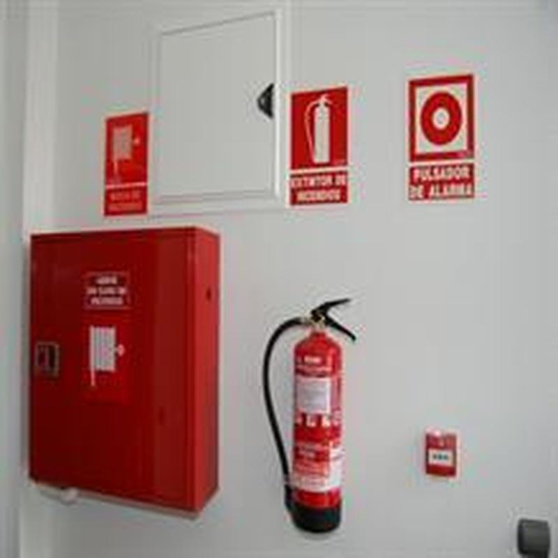 Sector incendios: Productos y Servicios de Asecoin