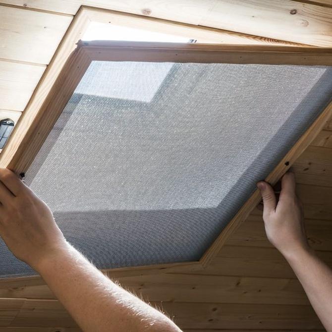 Los mosquiteros para puertas y ventanas