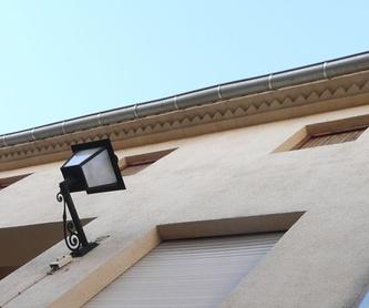 Canalones y bajantes de cobre: Servicios de Eurocanal