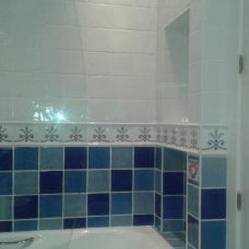 Acabados en albañilería, baños