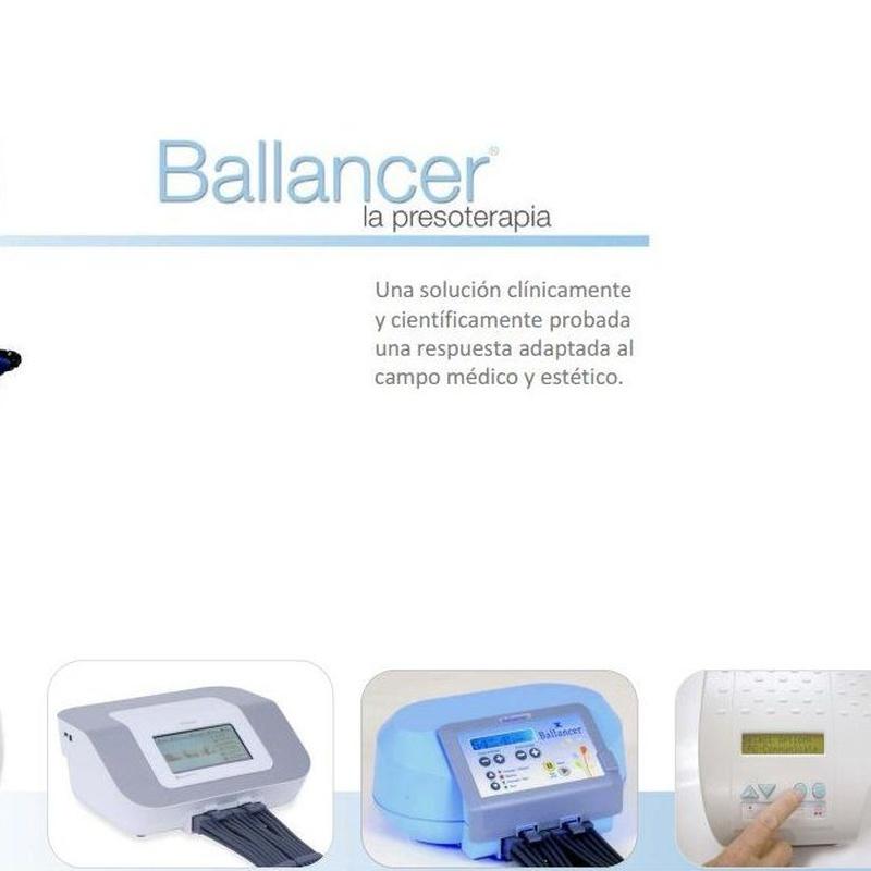 Tratamientos de presoterapia Ballancer en Madrid