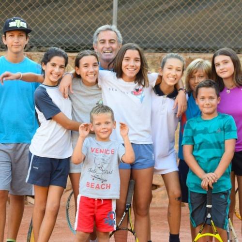 Escuela de tenis en Benissa