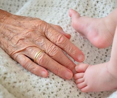 La piel del niño y la piel del viejo