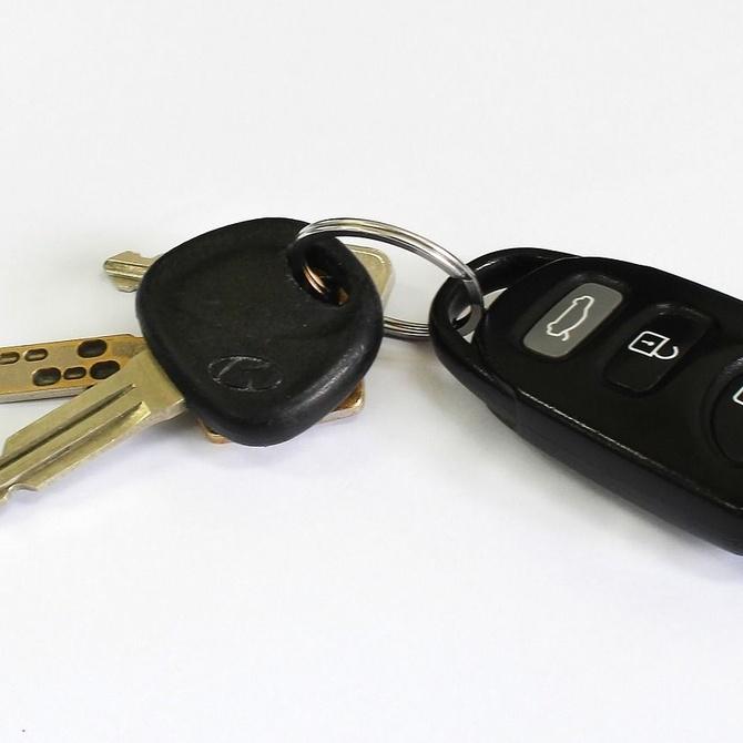 Repuesto de llaves para el coche