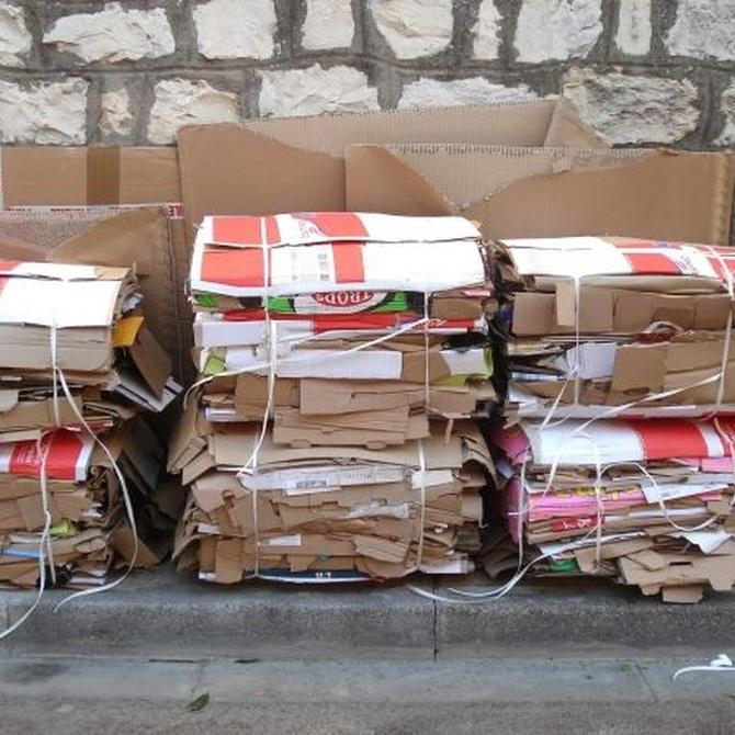 ¿Por qué hay que reciclar el cartón y el papel?