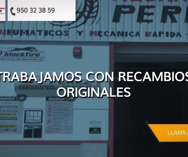 Taller mecánico especializado en neumáticos en Roquetas de Mar | Neumáticos Pérez