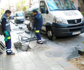 Servicio de mantenimiento de desagües: Servicios de Pele & Cano Desatascos