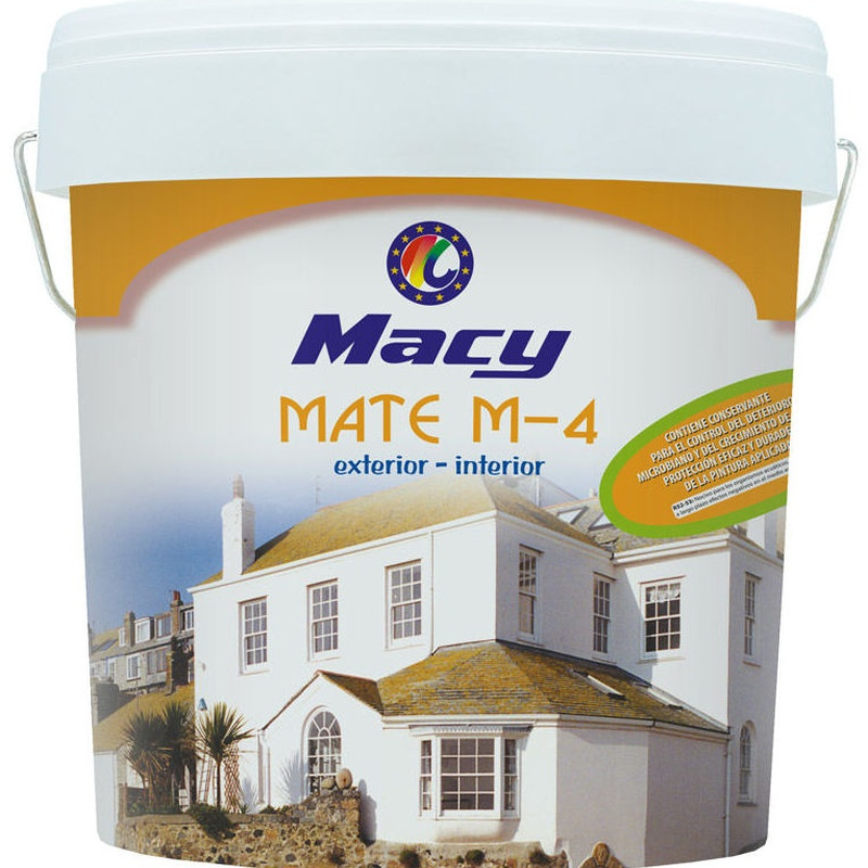 MATE M-4 ANTIMOHO en almacén de pinturas en ciudad lineal.