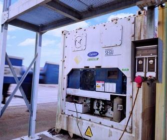 Reparación y mantenimiento de equipos marítimos y equipos de transporte: Productos y servicios  de Costafrío