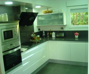 Cocina en Blanco de diseño