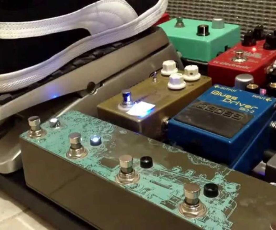 Interesantes pedales de efectos para la guitarra eléctrica