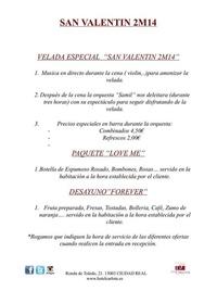 Especial San Valentín 2M14