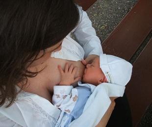 Prótesis mamarias y lactancia