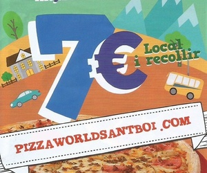 Restaurante pizzería en Sant Boi de Llobregat | Pizza World