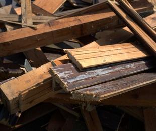 La importancia de reciclar madera