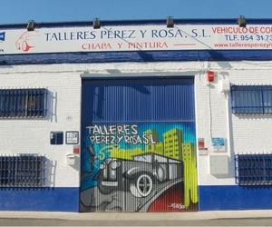 Taller de chapa y pintura Sevilla