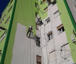 Reparación e impermeabilización de fachadas trabajos verticales CANTABRIA