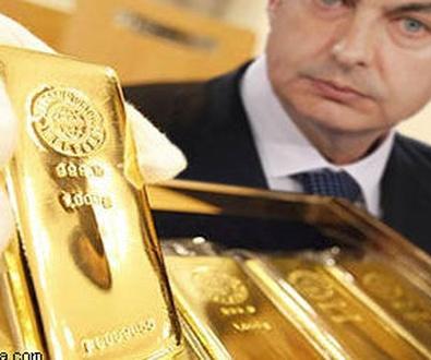 Historia de la reserva nacional de oro en España
