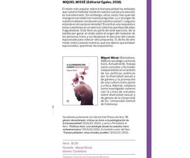 Artículo publicado Asociación Casa de las Mujeres