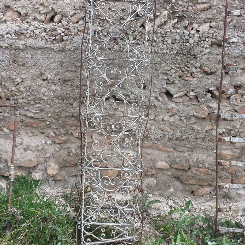 Reja en Chatarras Clemente de Albacete