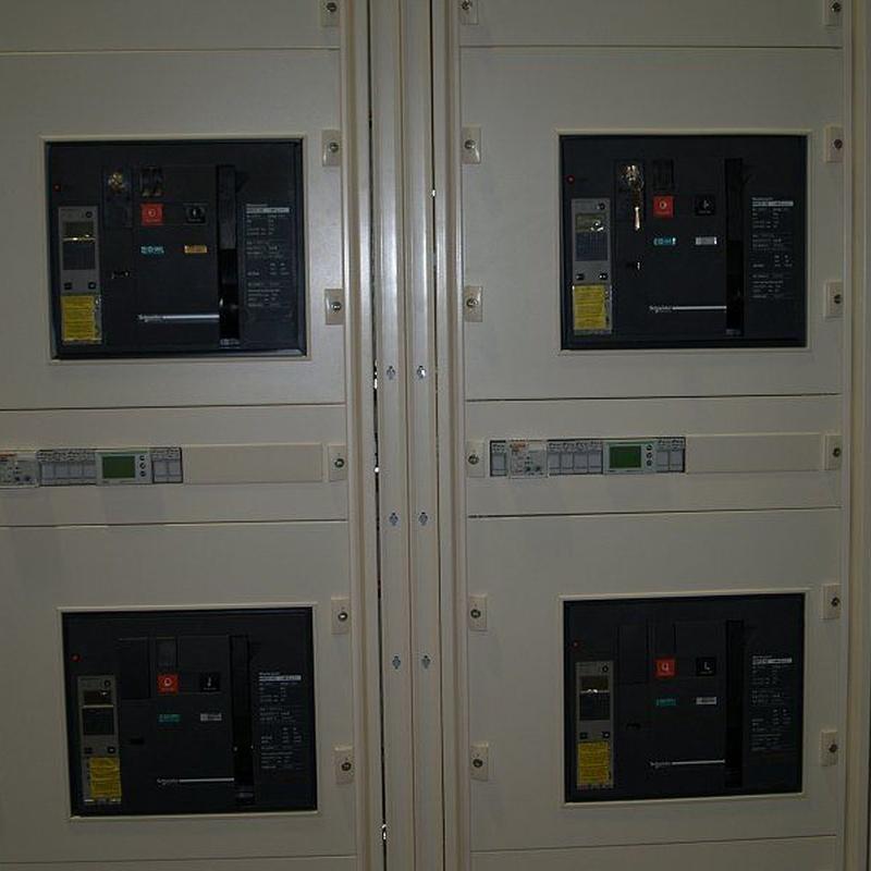 Cuadros de potencia hasta 3600A: Catálogo de Ingelev