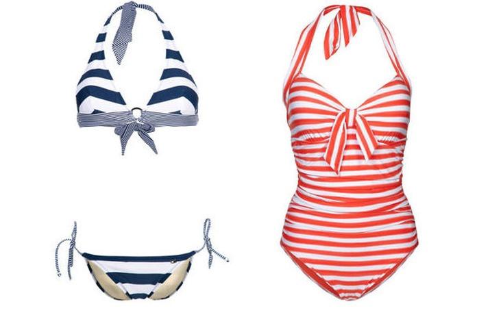 Correcto guardado de bikinis y bañadores
