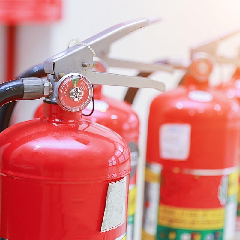 Carro extintor: Productos y Servicios de MV Protección