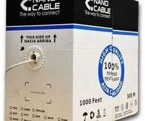BOBINA CABLE UTP CAT 5E