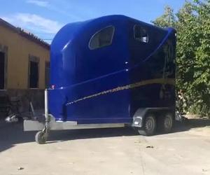 Remolque para caballos de alta gama en Pedrosillo de Alba. Remolques Bonilla