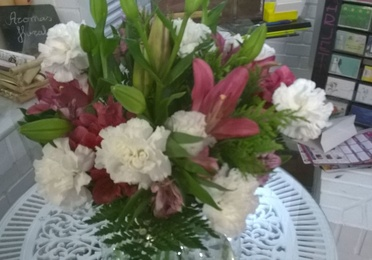Bouquet con claveles