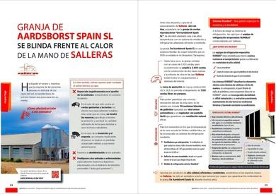 Granja Aardsborst Spain SL se blinda frente al calor con los equipos HUMIBAT de la mano de SALLERAS