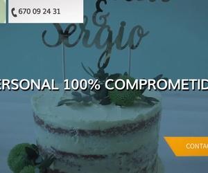 Tartas de boda en Fraga | El Taller de Ana