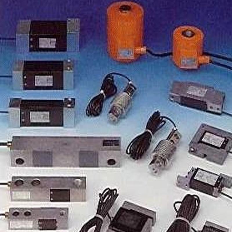 Células de carga: Productos de General de Pesaje Vizcaína