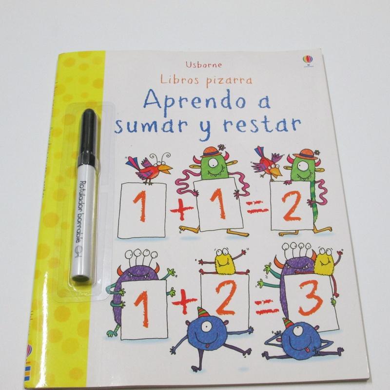 Aprendo a sumar. Libros pizarra